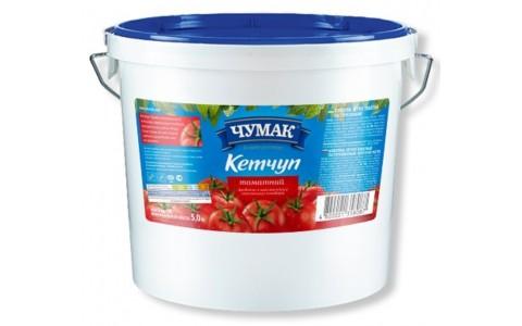 Кетчуп Томатний 5кг ТМ Чумак