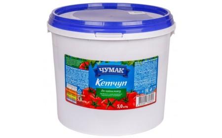 Кетчуп До шашлику,  5кг ТМ Чумак