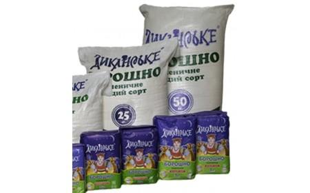 Борошно пшеничне в/г  50 кг  ТМ Диканське